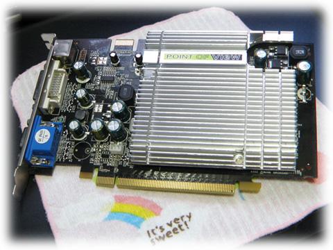 故障してしまったらしい  GF7300GT-E512H。