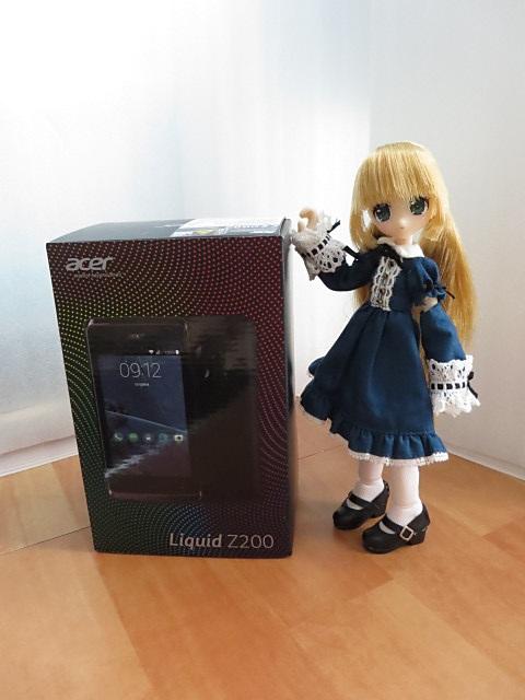 Acer Liquid Z200 とリプーさん